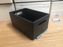 Pine Black Colour  Box 30cm Long, 20cm Wide and 13.5cm High